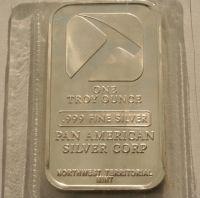 1 oz Fine Silver Bar